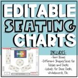 EDITABLE Digital Seating Charts