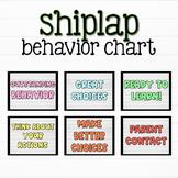 EDITABLE Shiplap Behavior Clip Chart