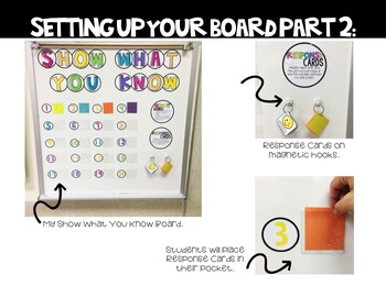 EDITABLE Show What You Know Board Kit