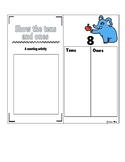 EDITABLE Show the Tens and Ones - Place Value Math Center