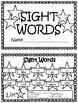 EDITABLE Sight Word Book