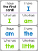 EDITABLE Sight Word I Have, Who Has? Game