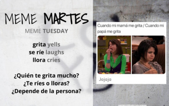 EDITABLE Slides - Daily Slides for the Spanish Classroom