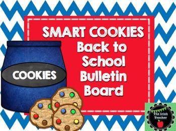 Back to School Bulletin Board EDITABLE Smart Cookie