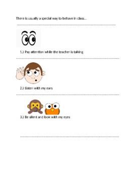 EDITABLE Social Skills create-a-book