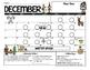 EDITABLE Spanish & English Behavior Calendar {December}