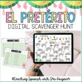 Spanish Preterite Digital Activity - Scavenger Hunt - Dist