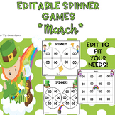 EDITABLE Spinner Games March