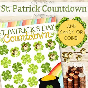 EDITABLE St. Patrick Countdown