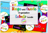 Stage/Grade Label Bundle #bundlebonanza
