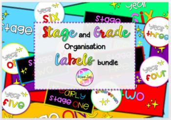 Stage/Grade Label Bundle #supportaussiefarmers