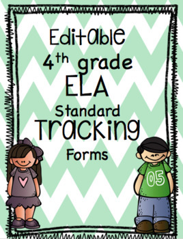 EDITABLE Standard Data Tracking Forms for ELA