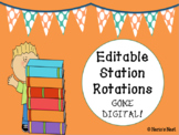 EDITABLE Station Rotations