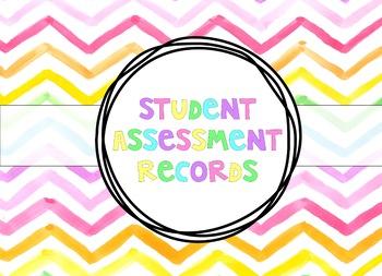 EDITABLE - Student Assessment Booklet