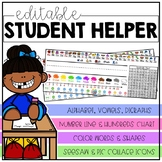 EDITABLE Student Helper
