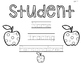 EDITABLE Student Name Tracers for Name Writing