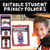 EDITABLE Student Privacy Shields