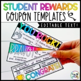 EDITABLE Rewards and Incentives Coupon Templates
