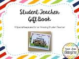 EDITABLE Student Teacher Gift Book
