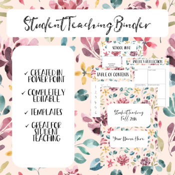 Student Teaching Binder Teaching Resources | Teachers Pay Teachers