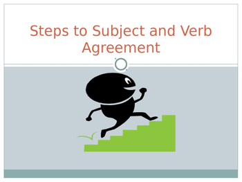 EDITABLE Subject Verb Agreement Powerpoint