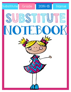 *EDITABLE* Substitute Binder ~ Pink Theme
