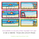 Summer Name Tags - Summer Kids at the Beach #tptfireworks