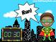 EDITABLE Super Hero Move It - Brain Breaks