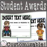 editable superlative awards