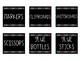 EDITABLE Supply Labels - Fit Inside Target Adhesive Pocket Labels!