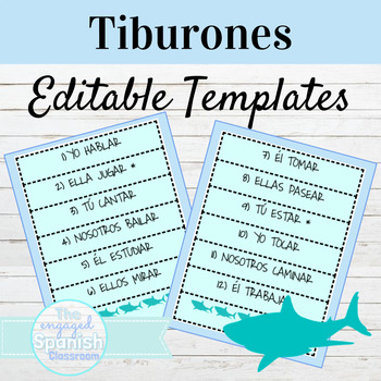 EDITABLE Vocab or Grammar Game Template