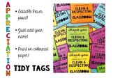 EDITABLE- TIDY TAGS