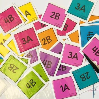 EDITABLE Cooperative Learning Desk Labels