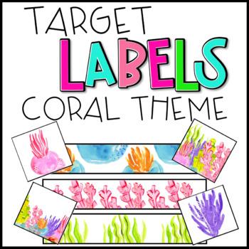 EDITABLE Target Labels: Coral