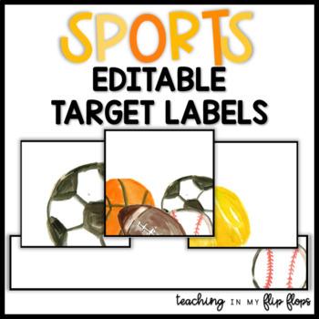 EDITABLE Target Labels: Sports