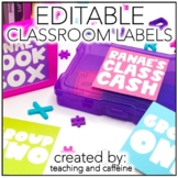 EDITABLE Target Label Template *PERSONAL USE*