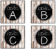 EDITABLE Target Pocket Labels: Shabby Wooden Style