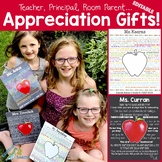 Teacher Appreciation Gifts! (EDITABLE )