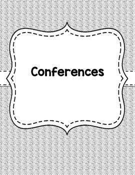 Teacher Binder Covers -  Gray Textile Background EDITABLE