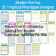 EDITABLE-Teacher Binder,Organizer, Planner Tropical Pineapple theme