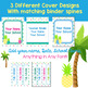 Editable & Updated-Teacher Binder,Organizer, Planner Tropical Pineapple theme