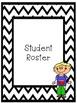 EDITABLE Teacher Binder Pages - Chevron