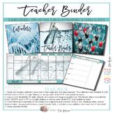 EDITABLE Teacher Binder: Science Themed {Google Drive Resource}