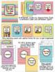 EDITABLE Teacher Binder in Rainbow Chevron
