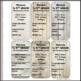 EDITABLE Teacher Communication Cards (Wood Theme)