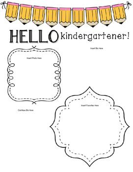 EDITABLE Teacher Introduction Letter