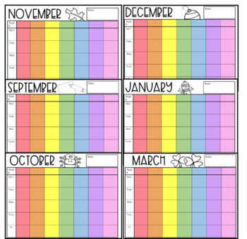 EDITABLE Teacher Lesson Planner