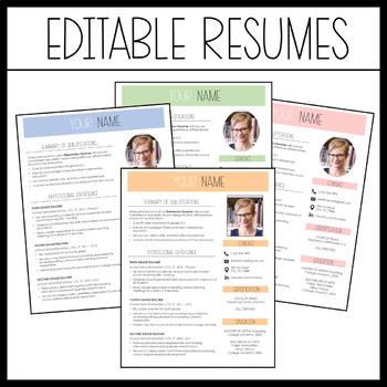 EDITABLE Teacher Portfolio (Cool and Calm!)