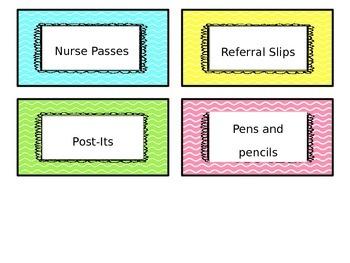 EDITABLE** Teacher Toolbox Labels!