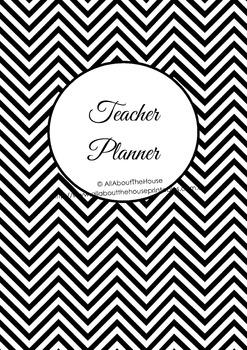 EDITABLE Teacher planner printables, classroom organizer,